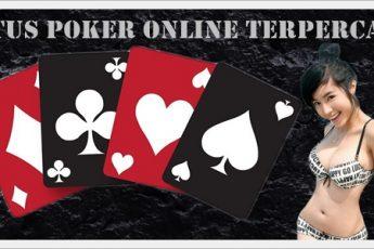 Keamanan Situs Poker Online Terpercaya